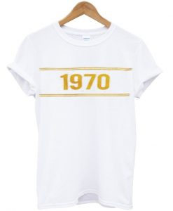 1970 yellow t-shirt