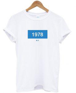 1978 NY New York Tshirt