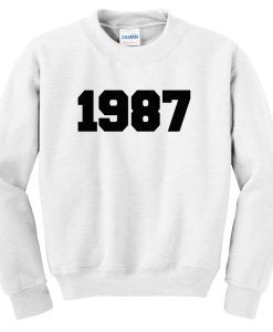 1987 sweatshirt