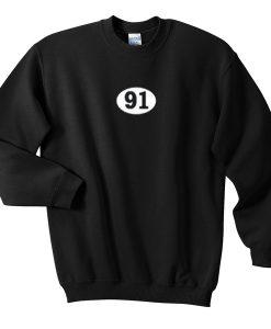 91 sweatshirt