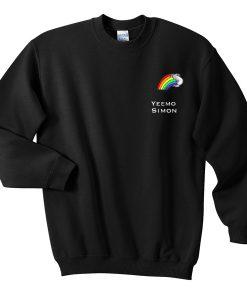 Yeemo Simon Rainbow Sweatshirt