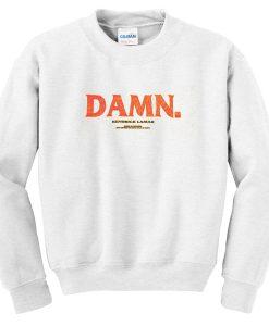 damn kendrick lamar sweatshirt
