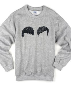 dan & phil hair sweatshirt