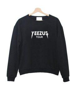 yeezus tour kanye west sweatshirt (2)