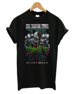 zombie brain eaters t-shirt