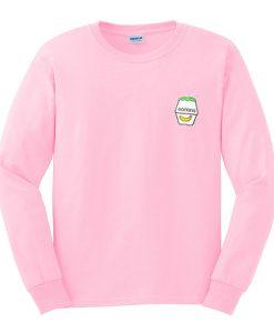 banana milk sweatshirt