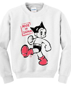 astro boy made in japan sweatshirt