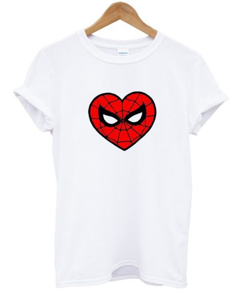 love spiderman t-shirt