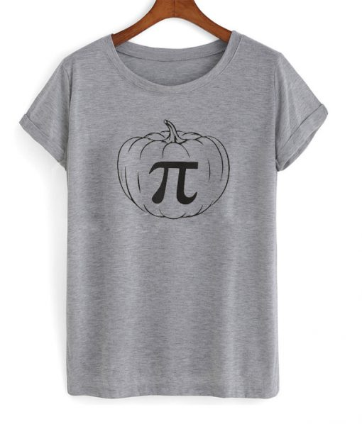 pumpkin pi t-shirt