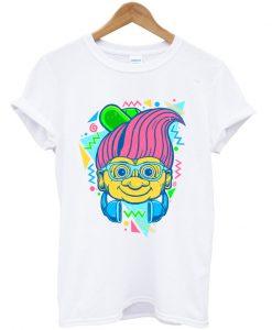 90s hip troll t-shirt