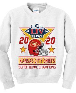 super liv bowl 2020 kansas city chiefs sweatshirt