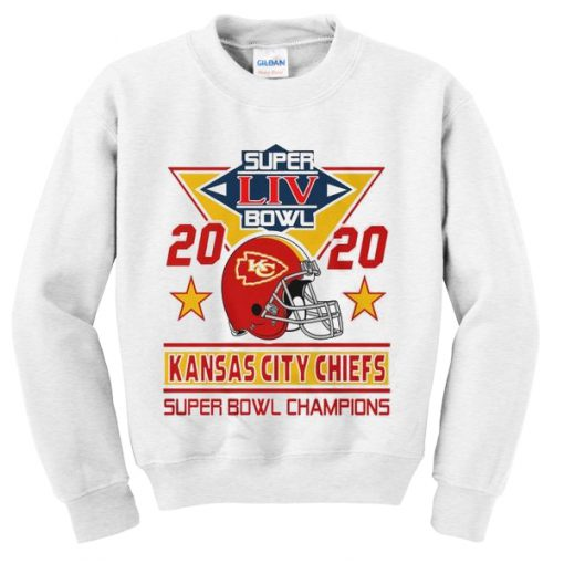 super liv bowl 2020 kansas city chiefs sweatshirt