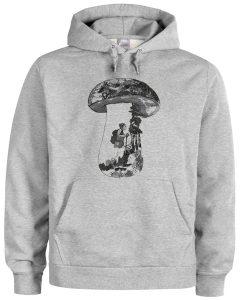 women's mushroom hoodie